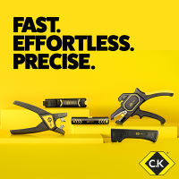 New C.K Cable and Wire Stripping Tools – Fast, Effortless and Precise!